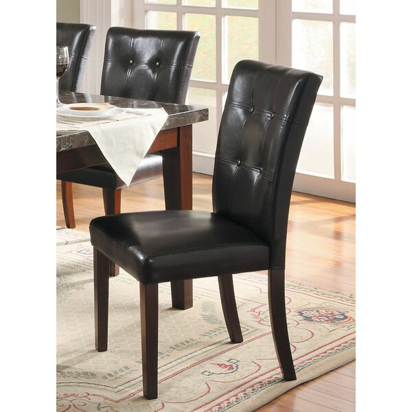Saxon Modern Luxurious Upholstered Dining Chair (Set of 2) by Red Barrel Studio