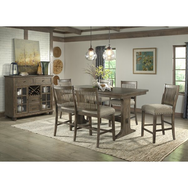 Schweitzer 5 Piece Pub Table Set by Gracie Oaks