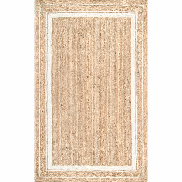 Barbados Beige/Bleached Area Rug by Beachcrest Home