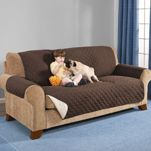 Reversible Box Cushion Sofa Slipcover by Red Barrel Studio