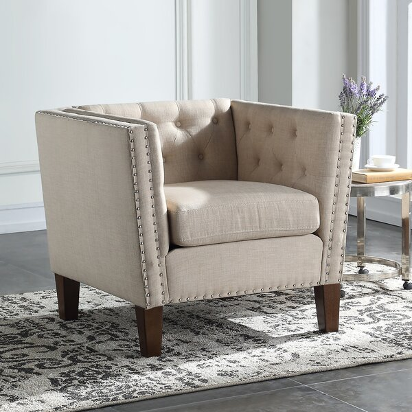 Trever Chesterfield Chair by House of Hampton House of Hampton