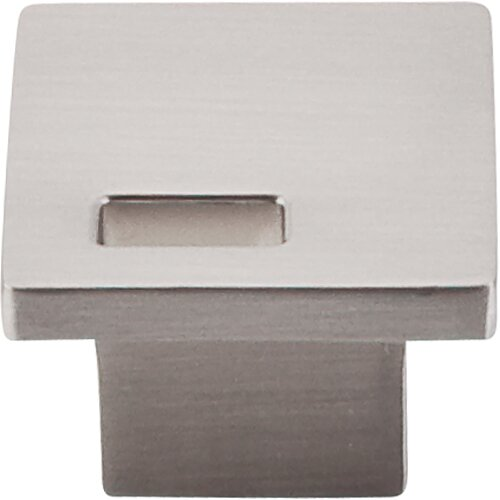 Sanctuary II Modern Metro Slot Square Knob by Top Knobs