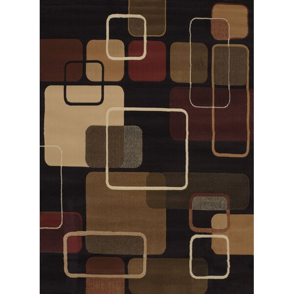 China Garden Jazz Black Multi Area Rug by United Weavers of America