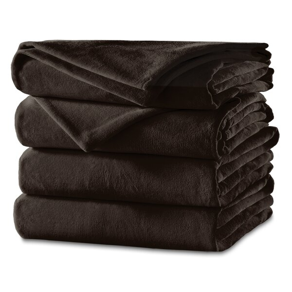 Hileman Velvet Plush Heated Blanket by Winston Porter