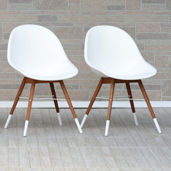 Kia Teak Patio Dining Chair (Set of 2) by Wrought Studio