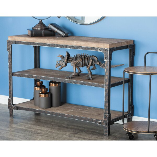 Leslie Wood Console Table by Williston Forge Williston Forge