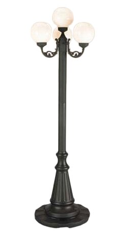 European 4-Light 80 Post Light by Patio Living Concepts