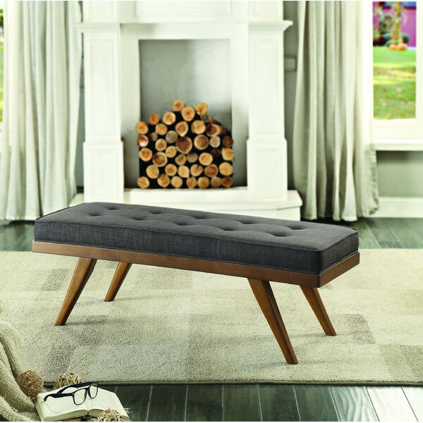 Harbin Upholstered Bench by George Oliver
