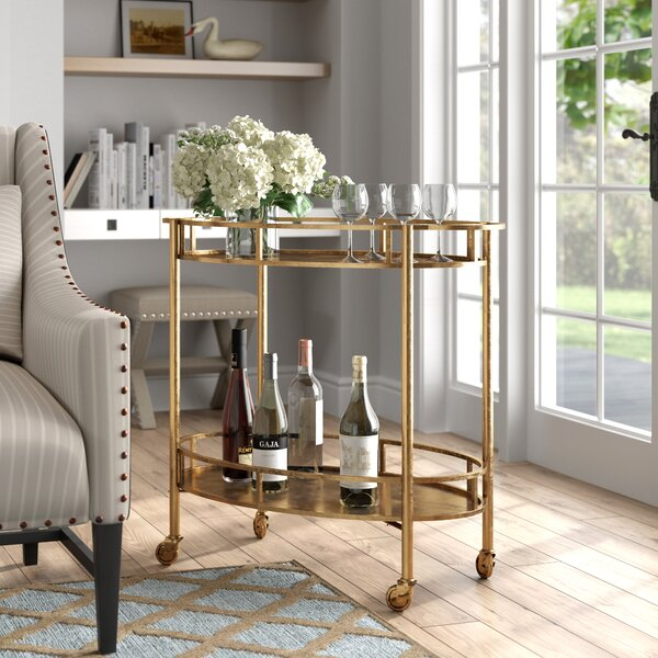Emersyn Bar Cart by House of Hampton