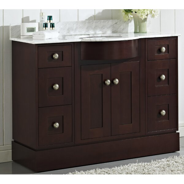 Kester 48 Wood Single Bathroom Vanity Set by Darby Home Co