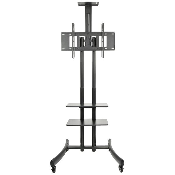 TV Cart Mobile Wheels Fixed Floor Stand Mount for 30 - 70 LCD LED Flat Screens by Vivo