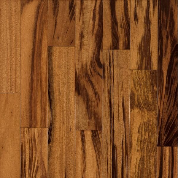 Global Exotics 3-1/2 Engineered Tigerwood Hardwood Flooring in Natural by Armstrong Flooring