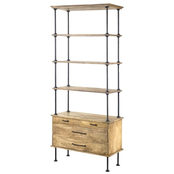 Delrico Etagere Bookcase by 17 Stories