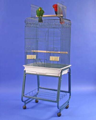 Mays Play Top Bird Cage with Plastic Base by Tucker Murphy Pet