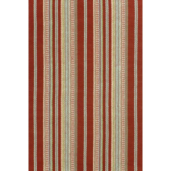 Hand Woven Red Area Rug by Dash and Albert Rugs