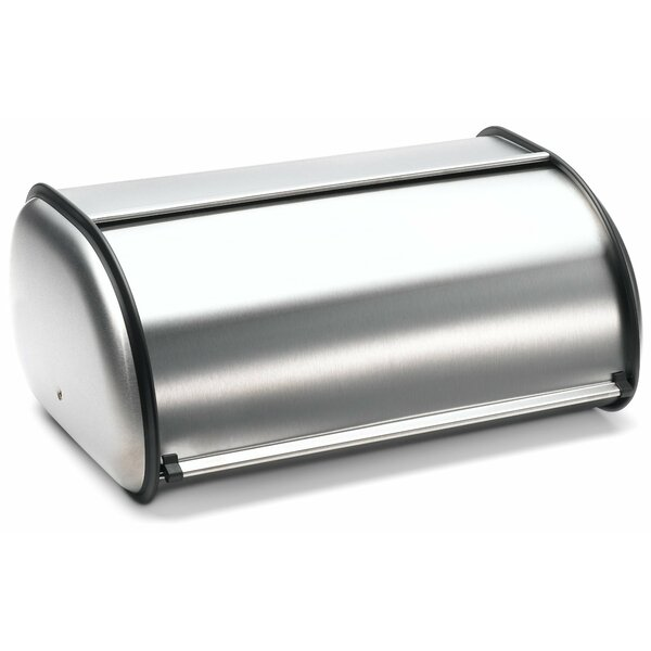 Stainless Steel Bread Box by Rebrilliant