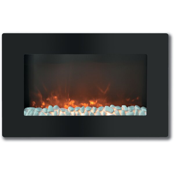 Neosho Wall Mounted Electric Fireplace By Ebern Designs