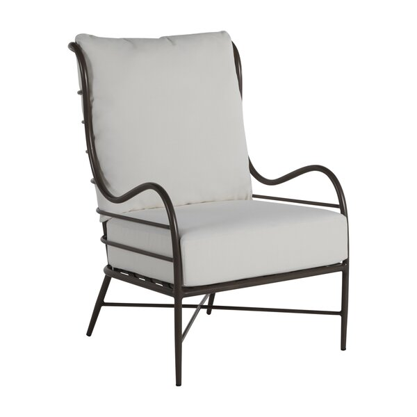Carmel Patio Chair with Cushions by Summer Classics