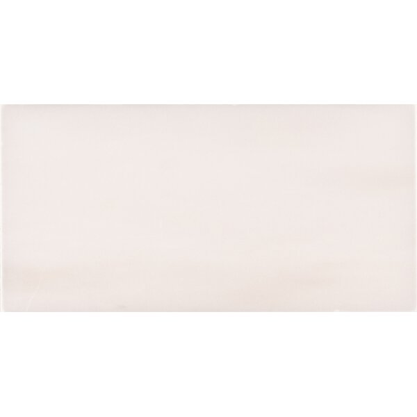 Bianco Dolomite 3 x 6 Polished Marble Subway Tile in White by MSI