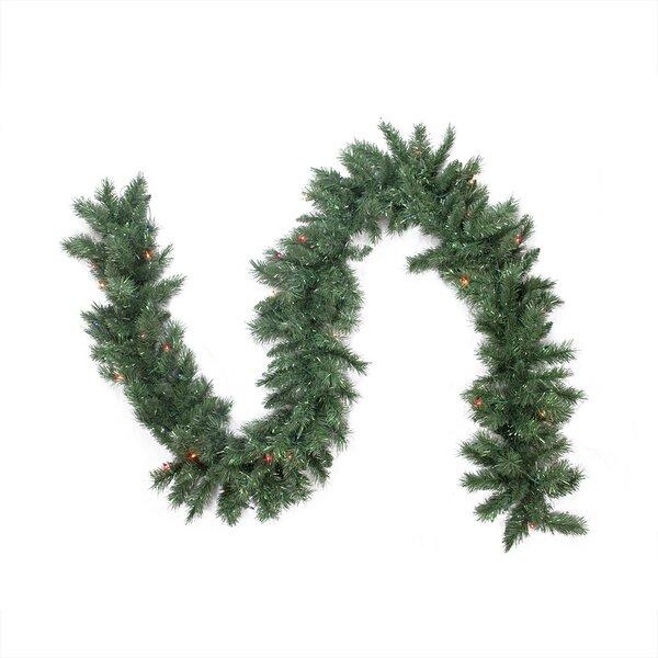 Pre-lit Minetoba Pine Artificial Christmas Garland by Northlight Seasonal