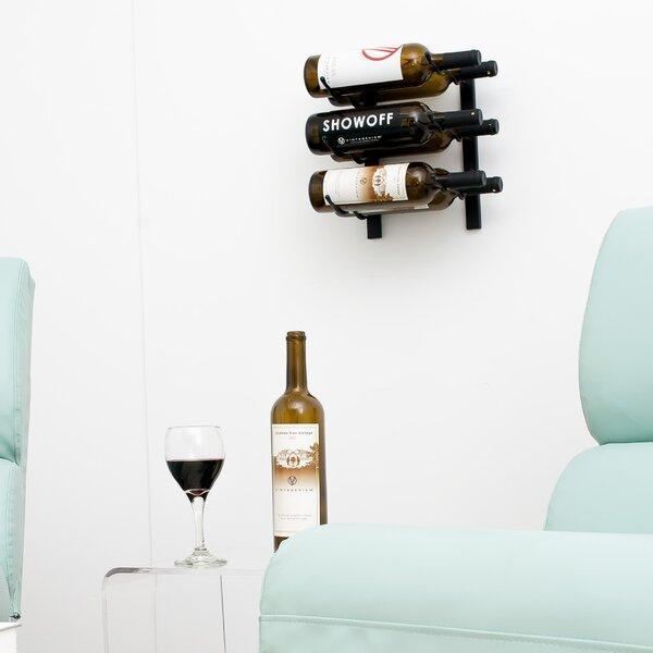 Indurial 6 Bottle Wall Mounted Wine Bottle Rack by Rebrilliant Rebrilliant