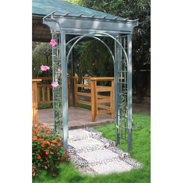 Caribbean Steel Arbor by Griffith Creek Designs