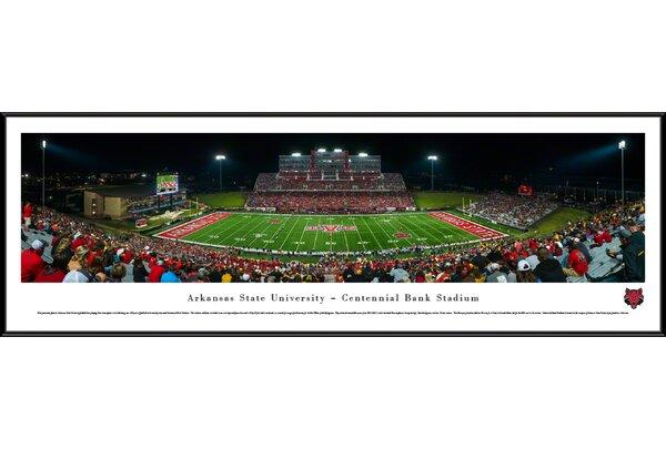 NCAA Arkansas State University Framed Photographic Print by Blakeway Worldwide Panoramas, Inc
