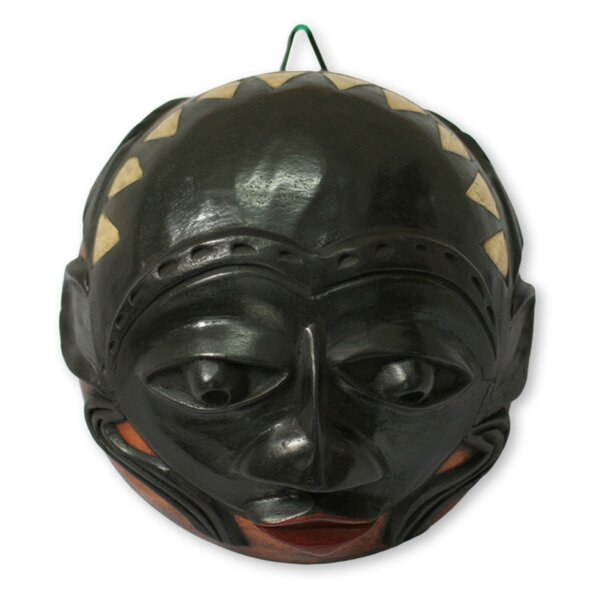 McHenry Chieftain Calabash Mask Wall Décor by Bloomsbury Market