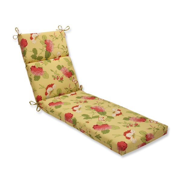 Risa Indoor/Outdoor Chaise Lounge Cushion by Pillow Perfect