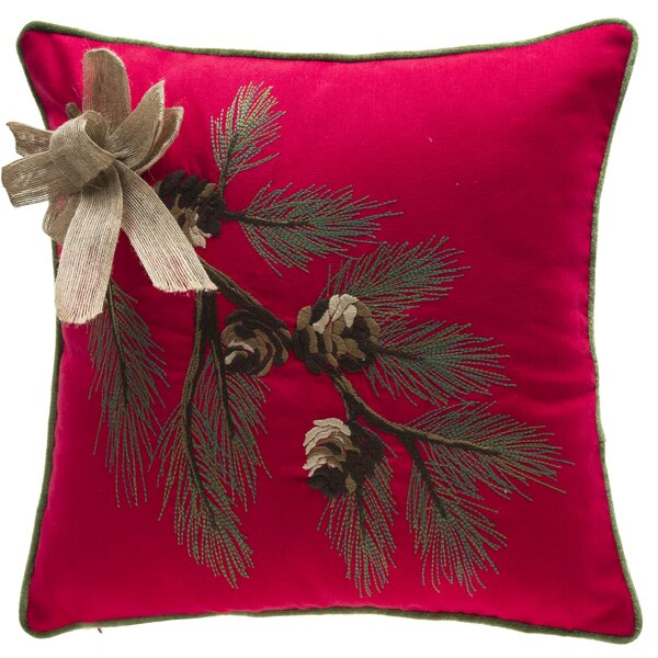 Dieterich Foliage Throw Pillow by Three Posts