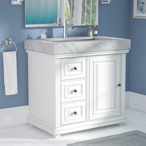 Bairdstown Contemporary 36 Single Bathroom Vanity Set by Darby Home Co