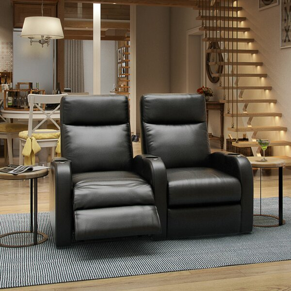 Lounger Home Theater Row Seating (Row Of 2) By Winston Porter