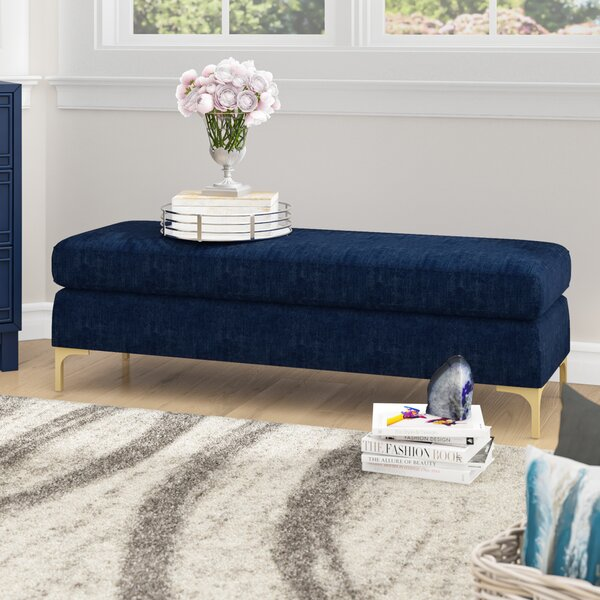 Melvin Upholstered Bench by Willa Arlo Interiors Willa Arlo Interiors