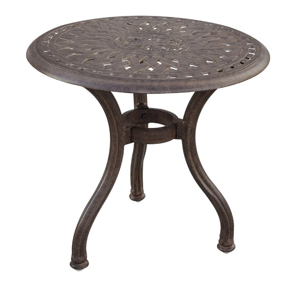 Fairmont Metal Side Table By Astoria Grand