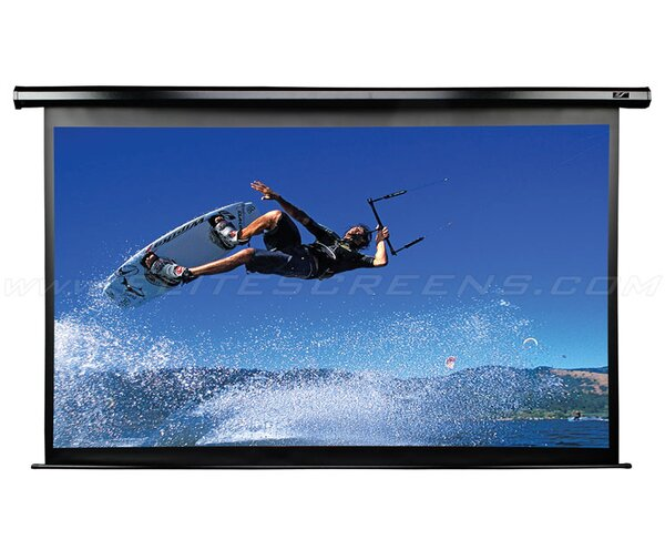 VMAX2 AcousticPro 99 Diagonal Electric Projection Screen by Elite Screens