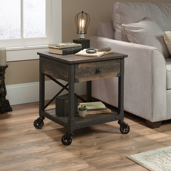 Ruthton End Table With Storage By Williston Forge