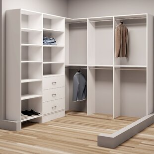 Best Demure Design 81W - 90.25W Closet System By TidySquares Inc.