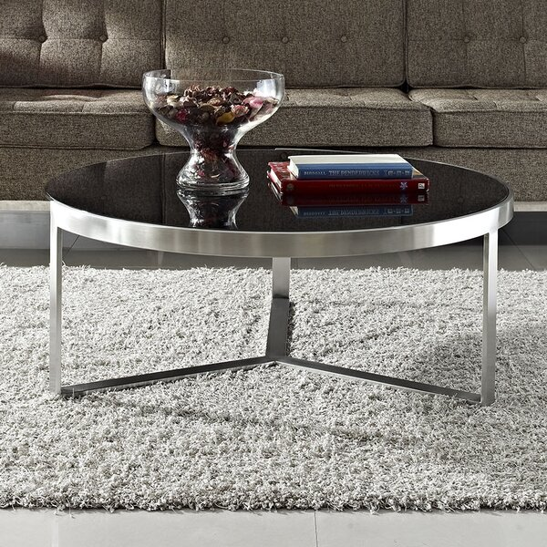 Disk Coffee Table by Modway