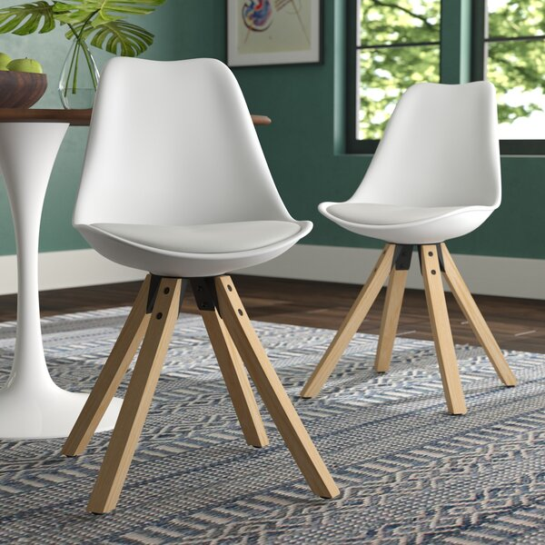 Violeta Upholstered Dining Chair (Set of 2) by Langley Street