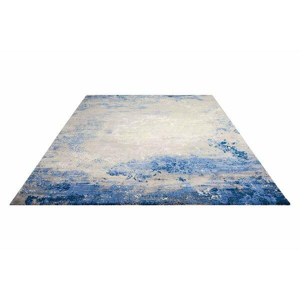 Antigua Blue/Gray Indoor Area Rug by Latitude Run