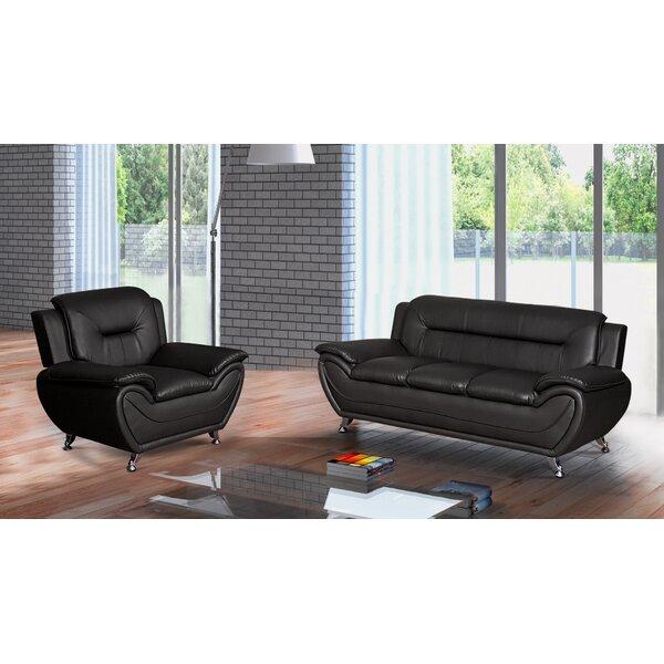 Orren Ellis Leather Furniture Sale