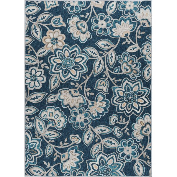 Corrina Navy Area Rug by Red Barrel Studio
