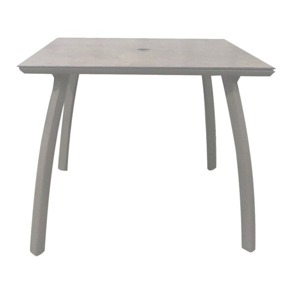 Leighann Metal Dining Table By Orren Ellis