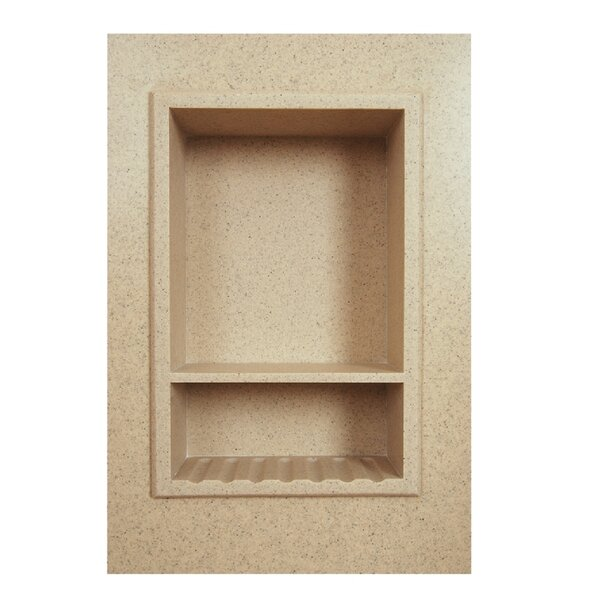 Solid Surface Recessed Shower Niche by Transolid