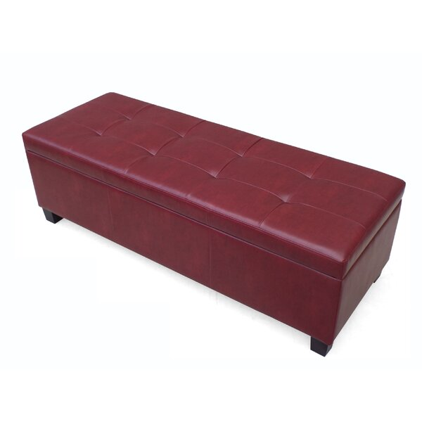 Tolle Storage Ottoman by Charlton Home