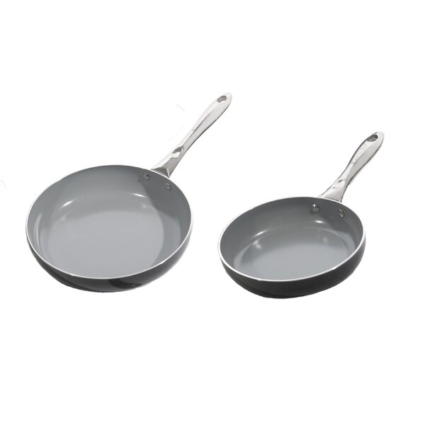 Boreal II Aluminum Non-Stick Cookware Set (Set of 2) by BergHOFF International