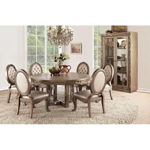 Hogan 7 Piece Dining Set by Rosdorf Park