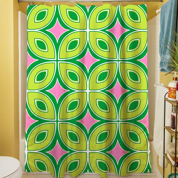 Lorraine Links Shower Curtain by Manual Woodworkers & Weavers