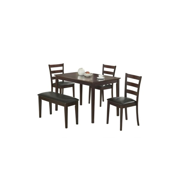 Yeung Ximena 5 Piece Dining Set by Winston Porter