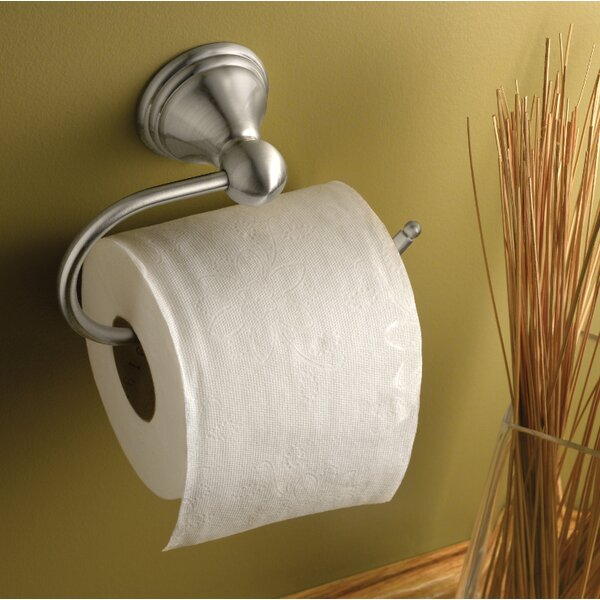 Preston Wall Mounted Toilet Paper Holder by Moen